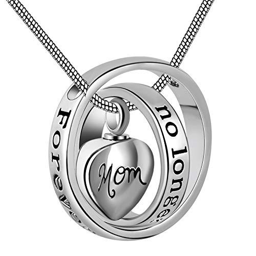 Heart Carved Locket Necklace