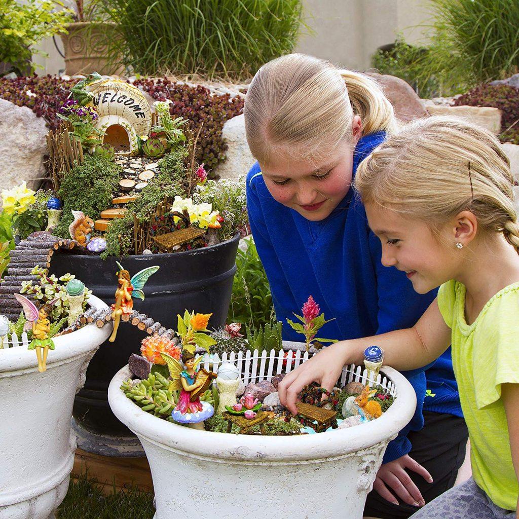 Best Magnificent Fairy Garden Set your kids