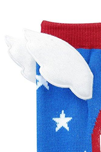 Captain America Shield Socks