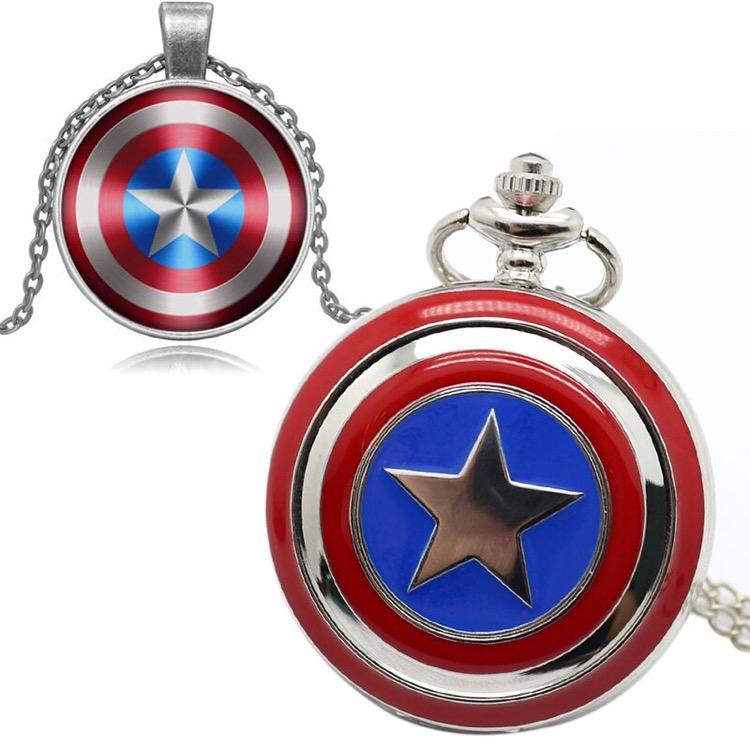 buy Captain America Shield Necklace online in bestnlinestuffs.com