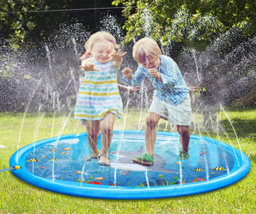 Outdoor Sprinkler pad