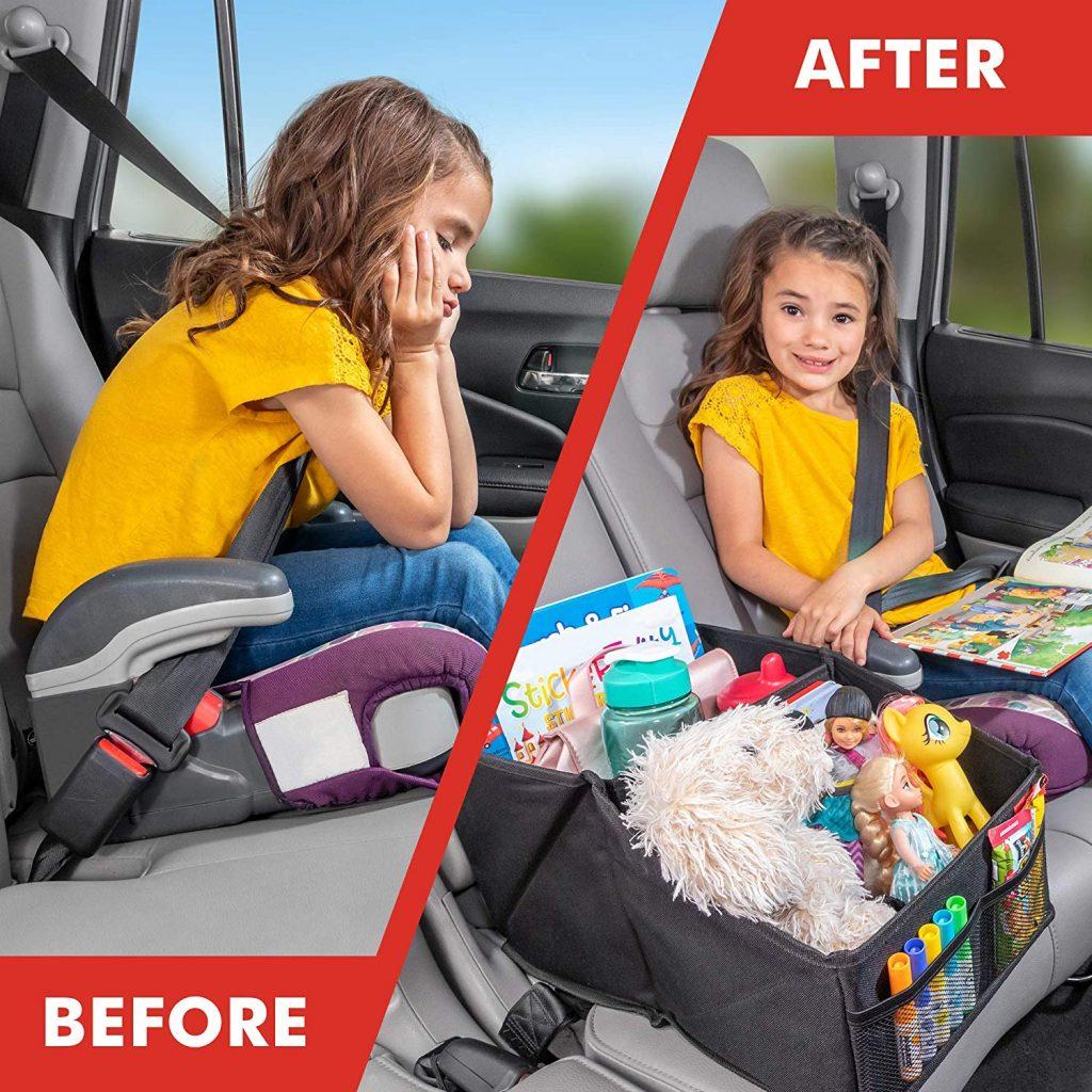 Premium Front & Backseat Car Seat Organizer