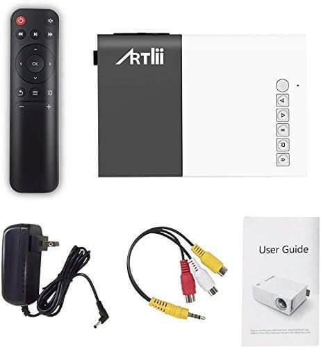 Artlii Mini pocket Projector