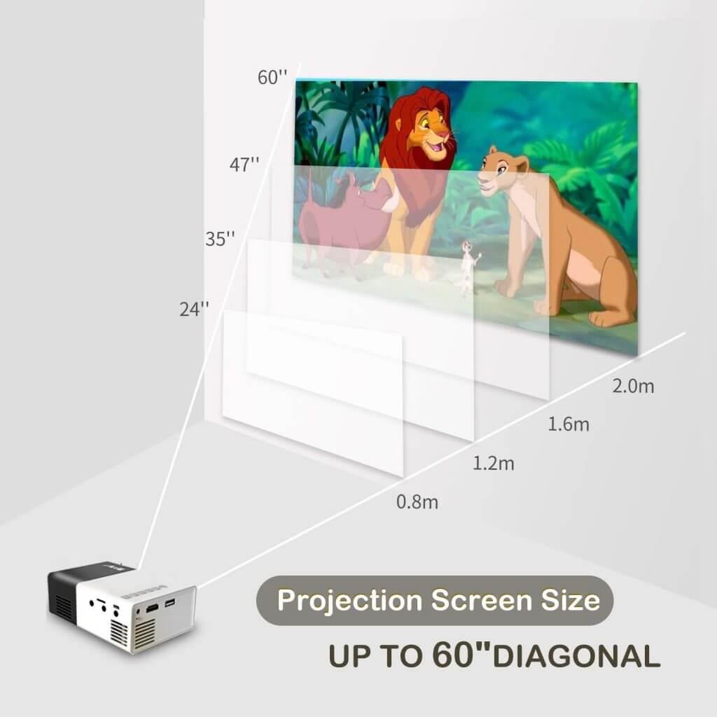 Artlii Mini Projector