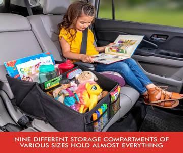 Premium Front & Backseat Car Organizer