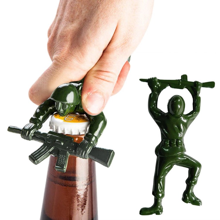Army Man Bottle Opener with One Hundred 80 Degrees
