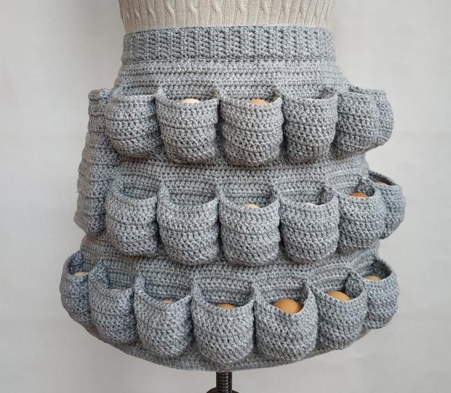 Agg Cellent Crochet Apron
