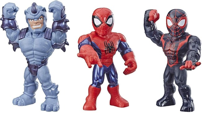 marvel super hero adventures mega mighties 3pk
