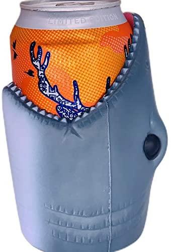 coolie shark beer holder