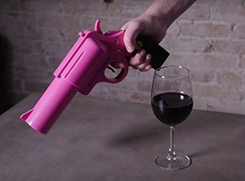 WineOvation Electric Gun Wine Opener