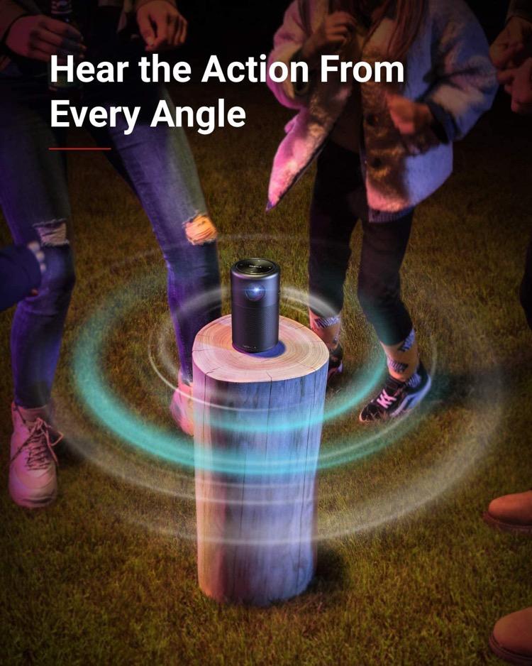 Nebula Capsule Portable Projector for Personal Theatre