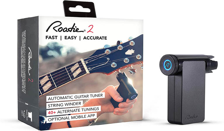 Automatic Guitar Tuner & String Winder