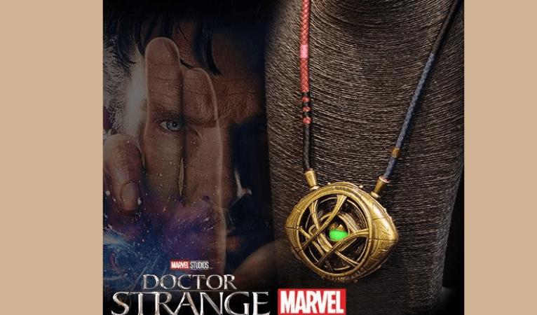 Doctor Strange Eye of Agamotto Replica Necklace