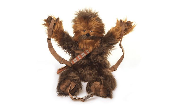 Star wars chewbacca buddies backpack