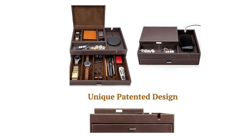 Houndsbay Admiral Dresser Valet box for mens