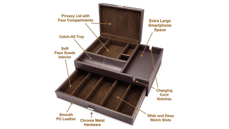 mens Houndsbay Admiral Dresser Valet box