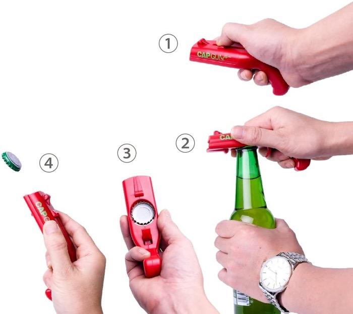 Amazon cap gun bottle opener