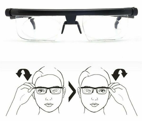 dial vision reading glasses