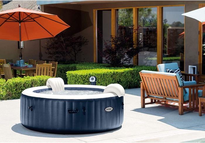 Intex 6 person hot tub
