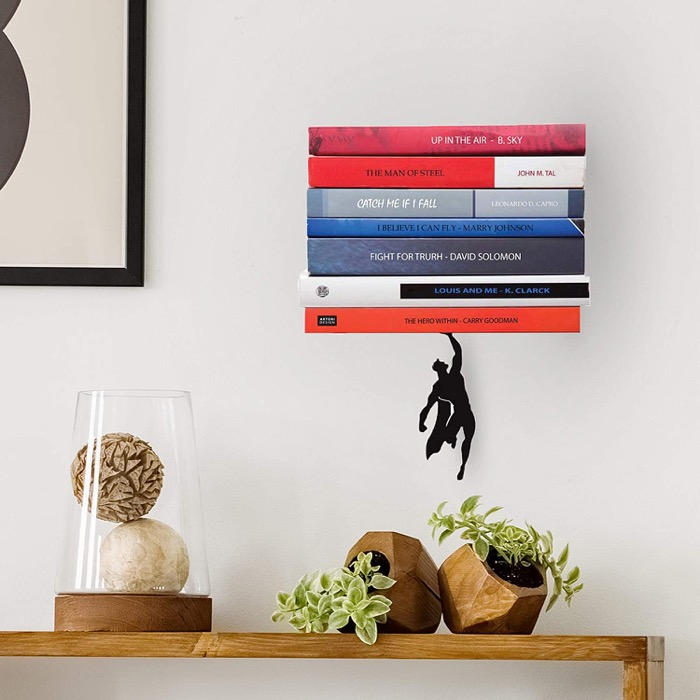 Supershelf floating bookshelf