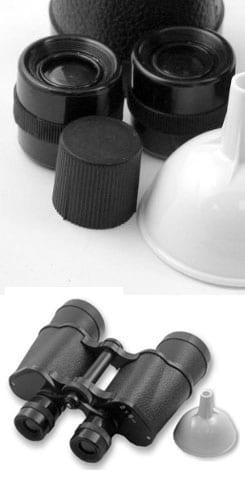 secret binocular flask
