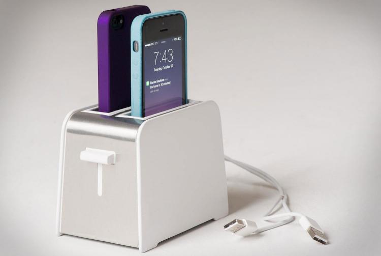 iPhone toaster charger