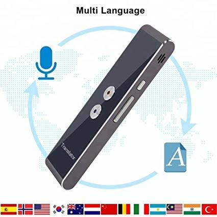 Handheld language translator device