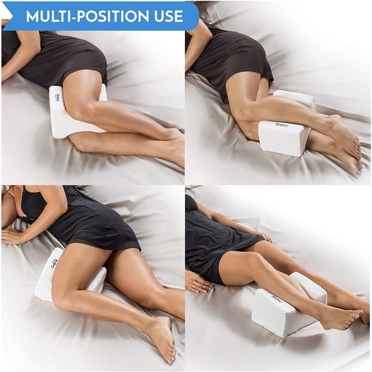 How to use a knee pillow