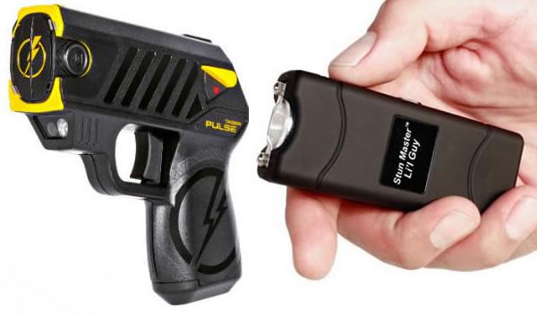 shooting stun gun