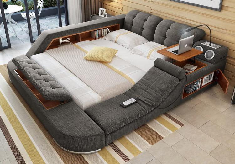 Futuristic bed