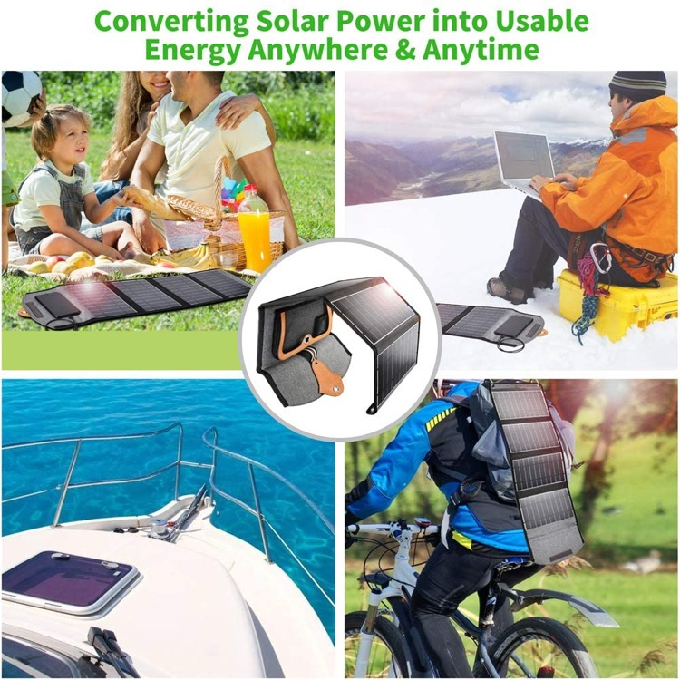 choetech solar charger