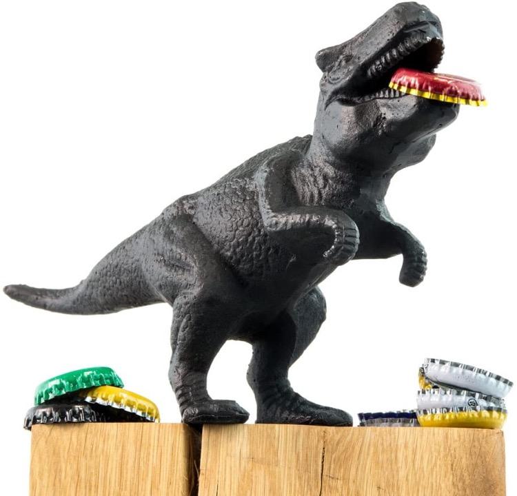 cast iron dinosaur bottle opener