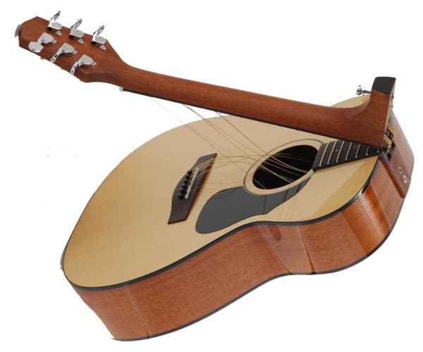 foldable guitar
