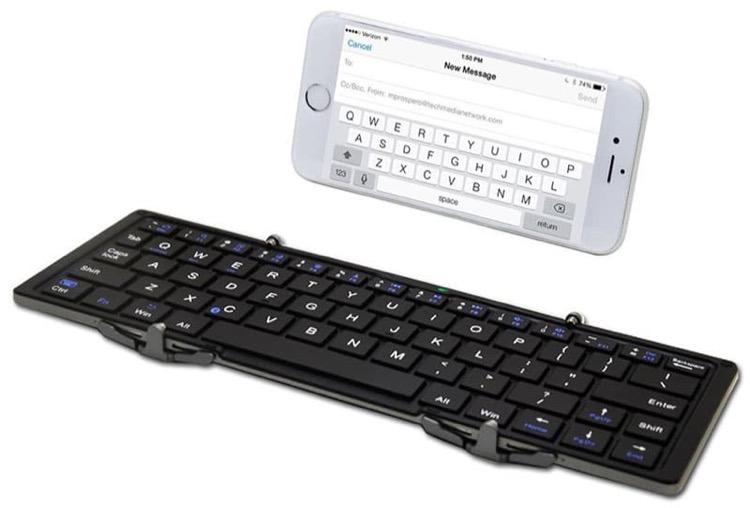 iphone folding bluetooth keyboard