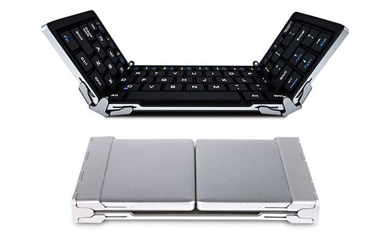 plugable full size bluetooth folding keyboard