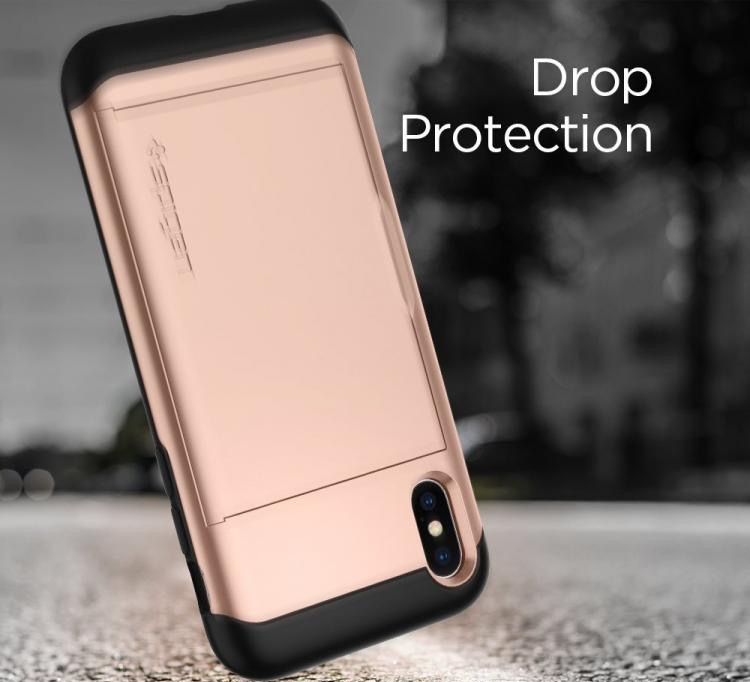 iPhone xs max case with pocket