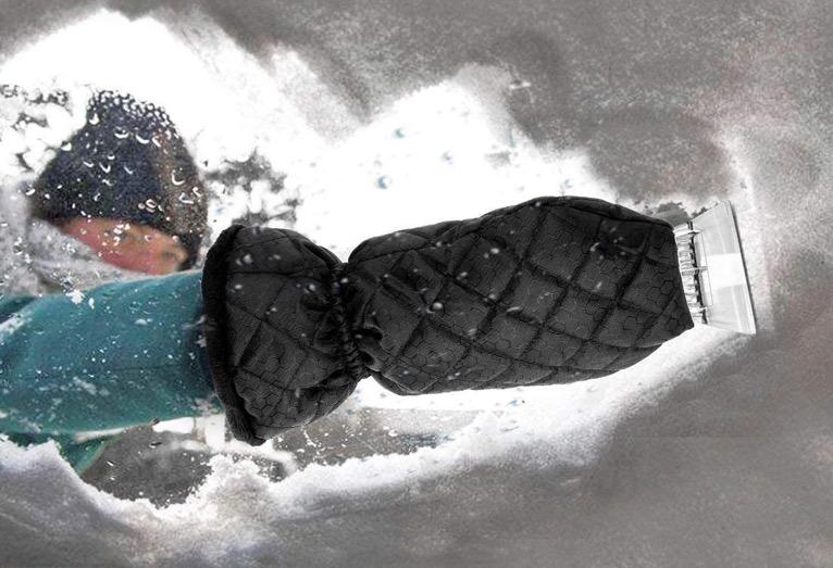 MATCC Ice Scraper Mitt Windshield Snow Scrapers