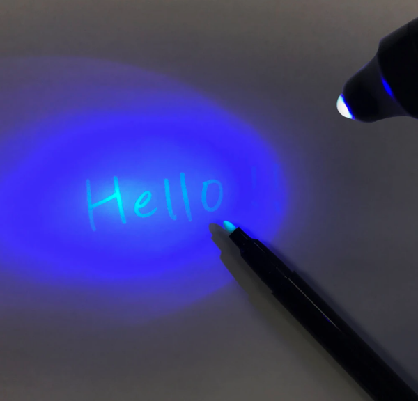 invisible ink spy pen
