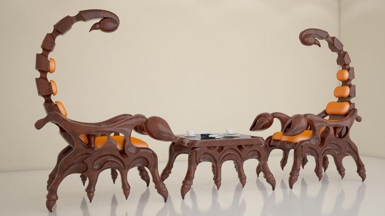 Chair scorpion