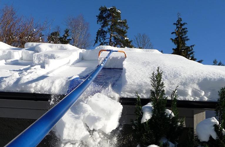Unique winter gadget Snow Removal System
