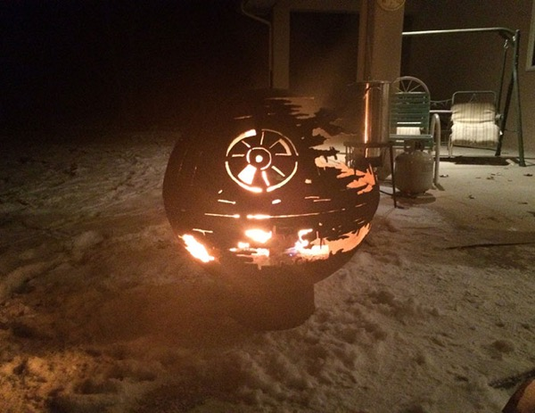 star wars outdoor fire pit