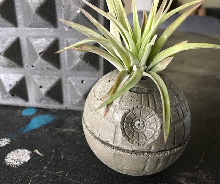 star wars planter