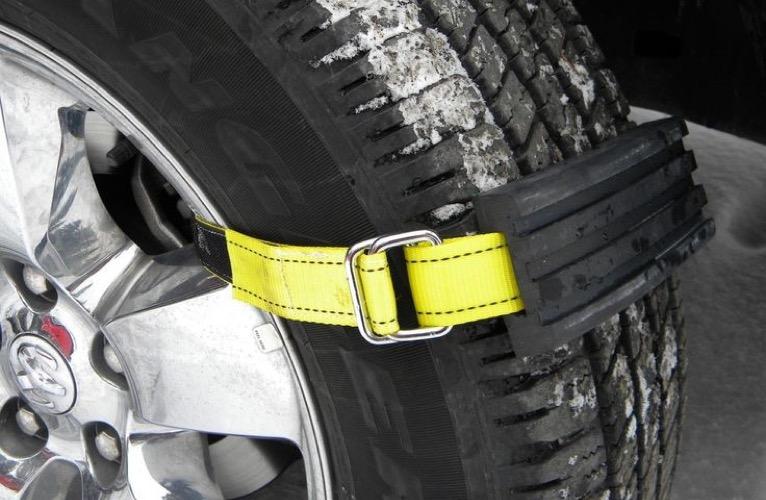 Unique winter gadget TRACGRABBER Trac-Grabber