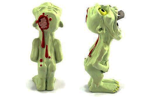 zombie bottle opener keychain
